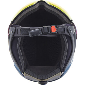 Alpina Attelas Visor QVM Hjelm, nightblue matt